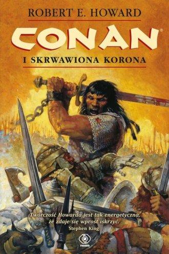 Conan i skrwawiona korona - okładka książki