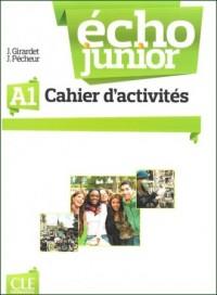Echo Junior A1. Ćwiczenia - okładka podręcznika
