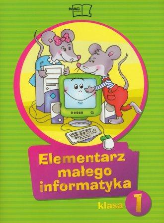 Elementarz małego informatyka. - okładka podręcznika