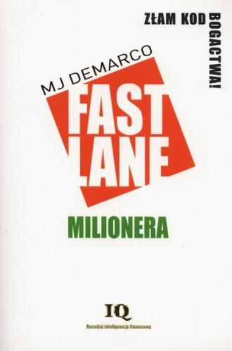 Fastlane milionera - okładka książki