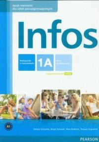 Infos 1A. Podręcznik z ćwiczeniami - okładka podręcznika