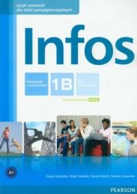 Infos 1B. Podręcznik z ćwiczeniami - okładka podręcznika