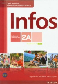 Infos 2A. Podręcznik z ćwiczeniami - okładka podręcznika