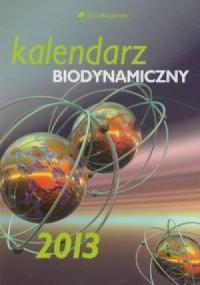 Kalendarz biodynamiczny 2013 - okładka książki
