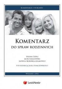Komentarz do spraw rodzinnych. Seria: Komentarze z wokandy - okładka książki