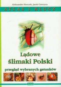 Lądowe ślimaki Polski. Atlas i klucz - okładka książki