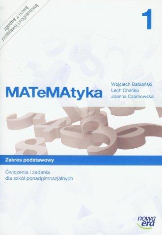 MATeMAtyka 1. Ćwiczenia i zadania - okładka podręcznika