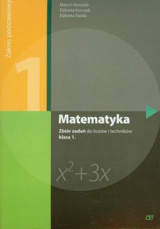 Matematyka. Klasa 1. Liceum, technikum. - okładka podręcznika