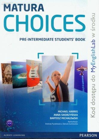 Matura Choices Pre-Intermadiate - okładka podręcznika