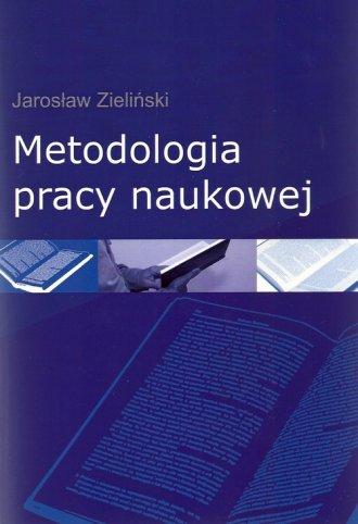 Metodologia pracy naukowej - okładka książki