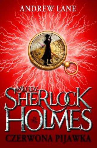 Młody Sherlock Holmes. Czerwona - okładka książki