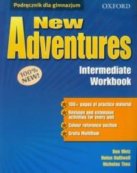 New Adventures Intermediate workbook - okładka podręcznika