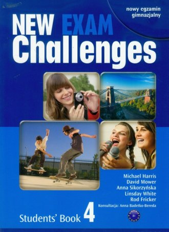 New Challenges Exam 4. Students - okładka podręcznika