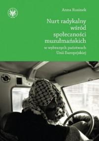 Nurt radykalny wśród społeczności - okładka książki