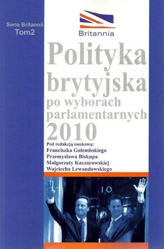 Polityka brytyjska po wyborach - okładka książki