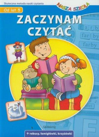 Zaczynam czytać. Nasza Szkoła - okładka podręcznika