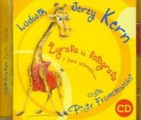 Żyrafa u fotografa i inne wiersze... Czyta: Piotr Fronczewski (audio CD) - pudełko audiobooku