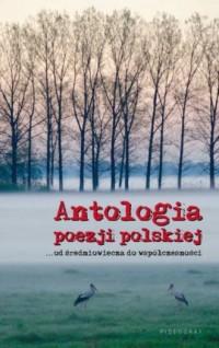Antologia poezji polskiej. Od średniowiecza do współczesności - okładka książki