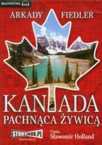 Kanada pachnąca żywicą. Czyta: Sławomir Holland (CD audio) - pudełko audiobooku