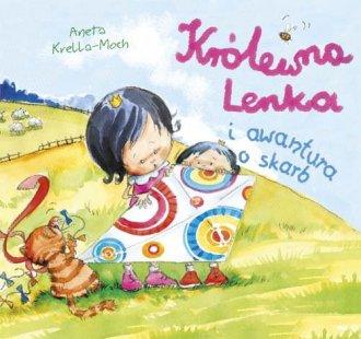 Królewna Lenka i awantura o skarb - okładka książki
