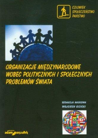 Organizacje międzynarodowe wobec - okładka książki