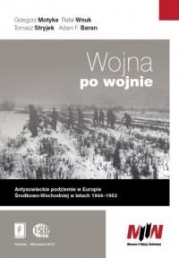 Wojna po wojnie - okładka książki