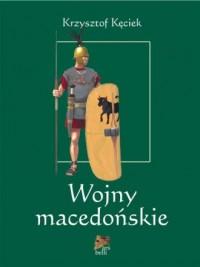 Wojny macedońskie - okładka książki
