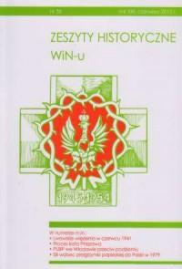 Zeszyty Historyczne Win-u nr 35 (czerwiec 2012) - okładka książki