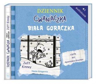 Dziennik cwaniaczka 6. Biała gorączka - pudełko audiobooku
