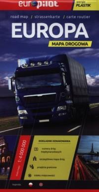 Europa. Foliowana mapa drogowa - okładka książki