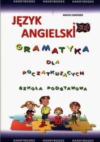 Gramatyka angielska dla początkujących. Szkoła podstawowa. - okładka podręcznika