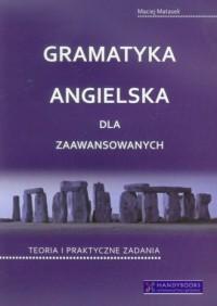 Gramatyka angielska dla zaawansowanych. Teoria i praktyczne zadania - okładka podręcznika