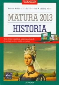 Historia. Vademecum. Matura 2013 - okładka podręcznika