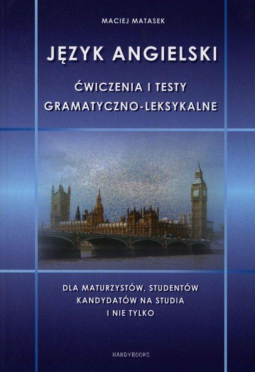 Język angielski. Ćwiczenia i testy - okładka podręcznika