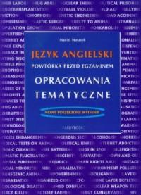 Język angielski powtórka przed egzaminem opracowania tematyczne - okładka podręcznika