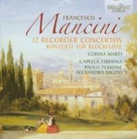 Mancini: 12 recorder concertos (CD) - okładka płyty