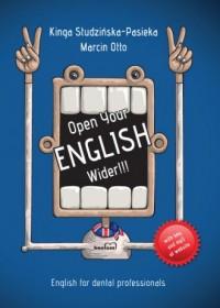 Open Your English Wider!!! - Kinga - okładka książki