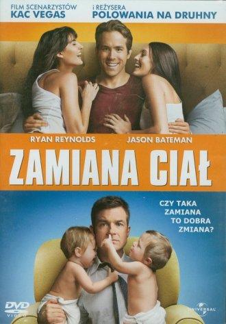 Zamiana ciał (DVD) - okładka filmu