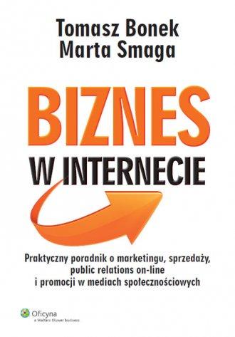 Biznes w internecie - okładka książki