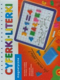 Cyferki literki magnetyczne - zdjęcie zabawki, gry