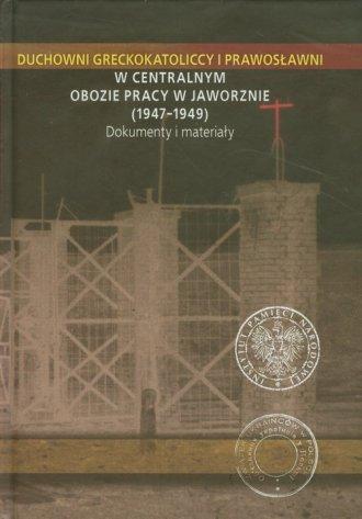 Duchowni greckokatoliccy i prawosławni - okładka książki