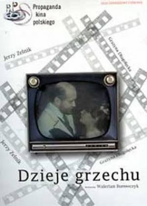Dzieje grzechu (DVD) - okładka filmu