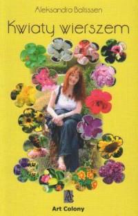 Kwiaty wierszem - okładka książki