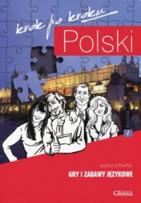 Polski krok po kroku. Gry i zabawy językowe - okładka podręcznika