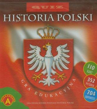 Quiz. Historia Polski. Gra edukacyjna - zdjęcie zabawki, gry
