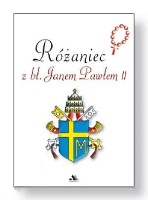 Różaniec z Janem Pawłem II - okładka książki