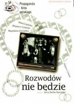 Rozwodów nie będzie (DVD) - okładka filmu