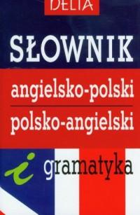 Słownik angielsko-polski, polsko-angielski i gramatyka - okładka podręcznika