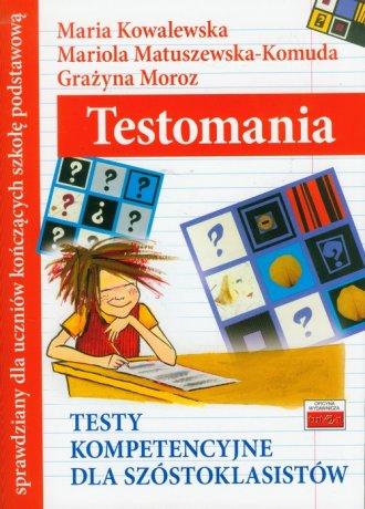 Testomania. Testy kompetencyjne - okładka podręcznika