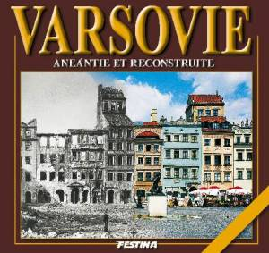 Warszawa zburzona i odbudowana - okładka książki